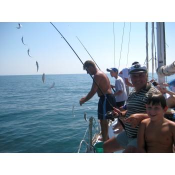 Риболов с обяд